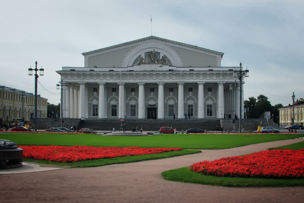 Central Naval Museum in Saint Petersburg, Russia