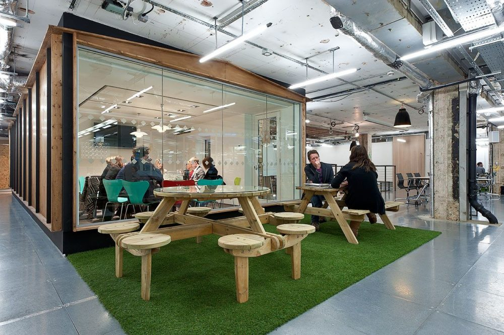 3 innovative companies with the most creative breakout for Most innovative office spaces