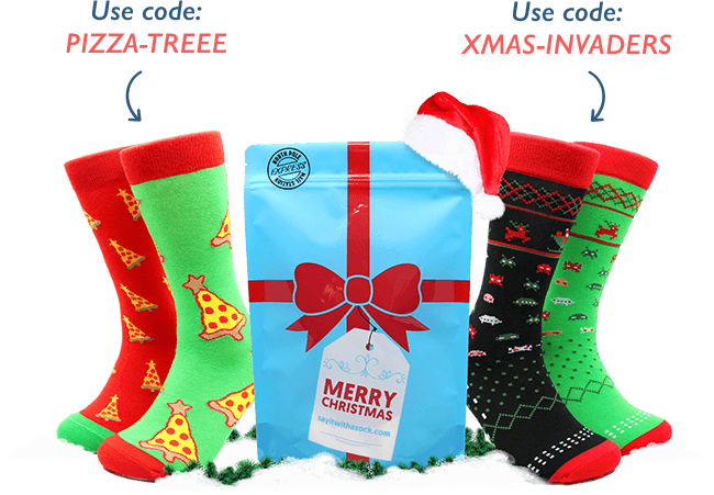 through the gift subscription your love ones or friends get to receive the best christmas socks gift delivered right to their doorstep